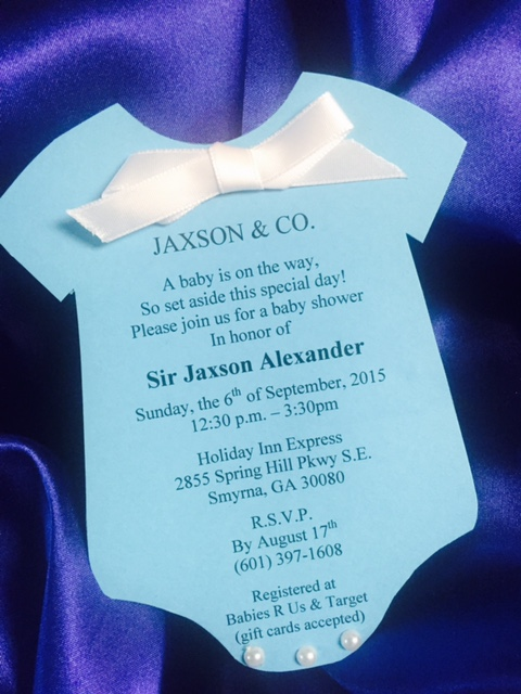 Baby Shower Invite
