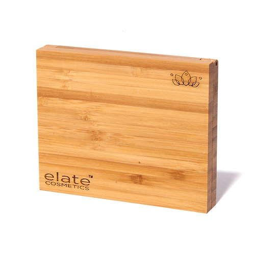 Elate Bamboo Empty Compacts