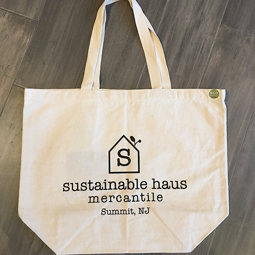 Sustainable Haus Canvas Shopping Bag