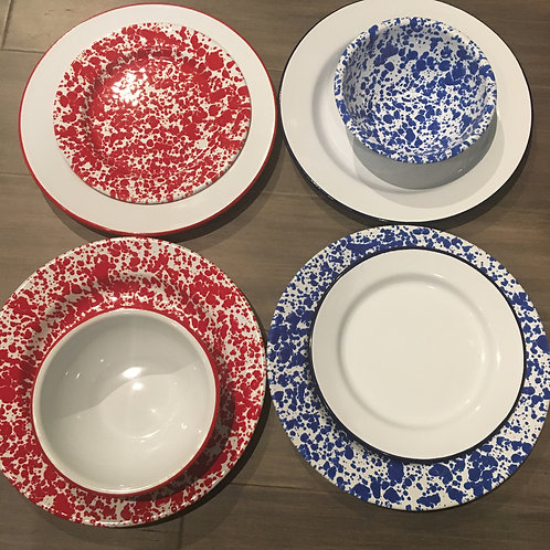 Crow Canyon Enamalware Dishes prices vary
