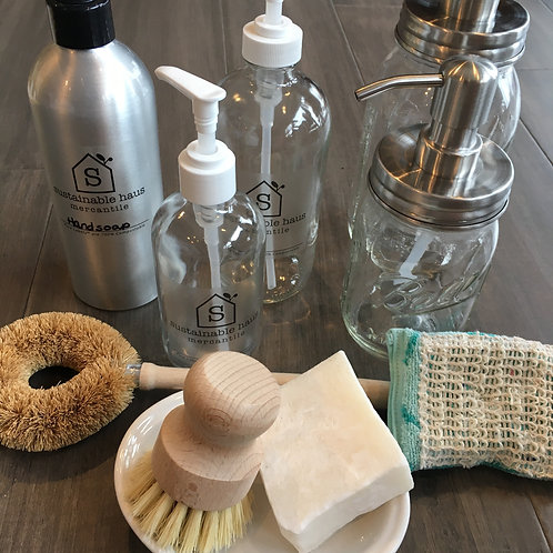 Refillable Dish Soap, Dishwasher Detergent - Priced Vary