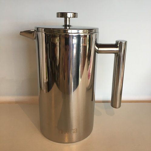 Stainless French Press by Mira - for Coffee or Tea