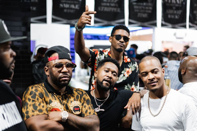 8c87b8261ff T.I., Usher, Killer Mike, Monica, Zaytoven and More Attend the VIP Pop-Up  Trap Music Museum