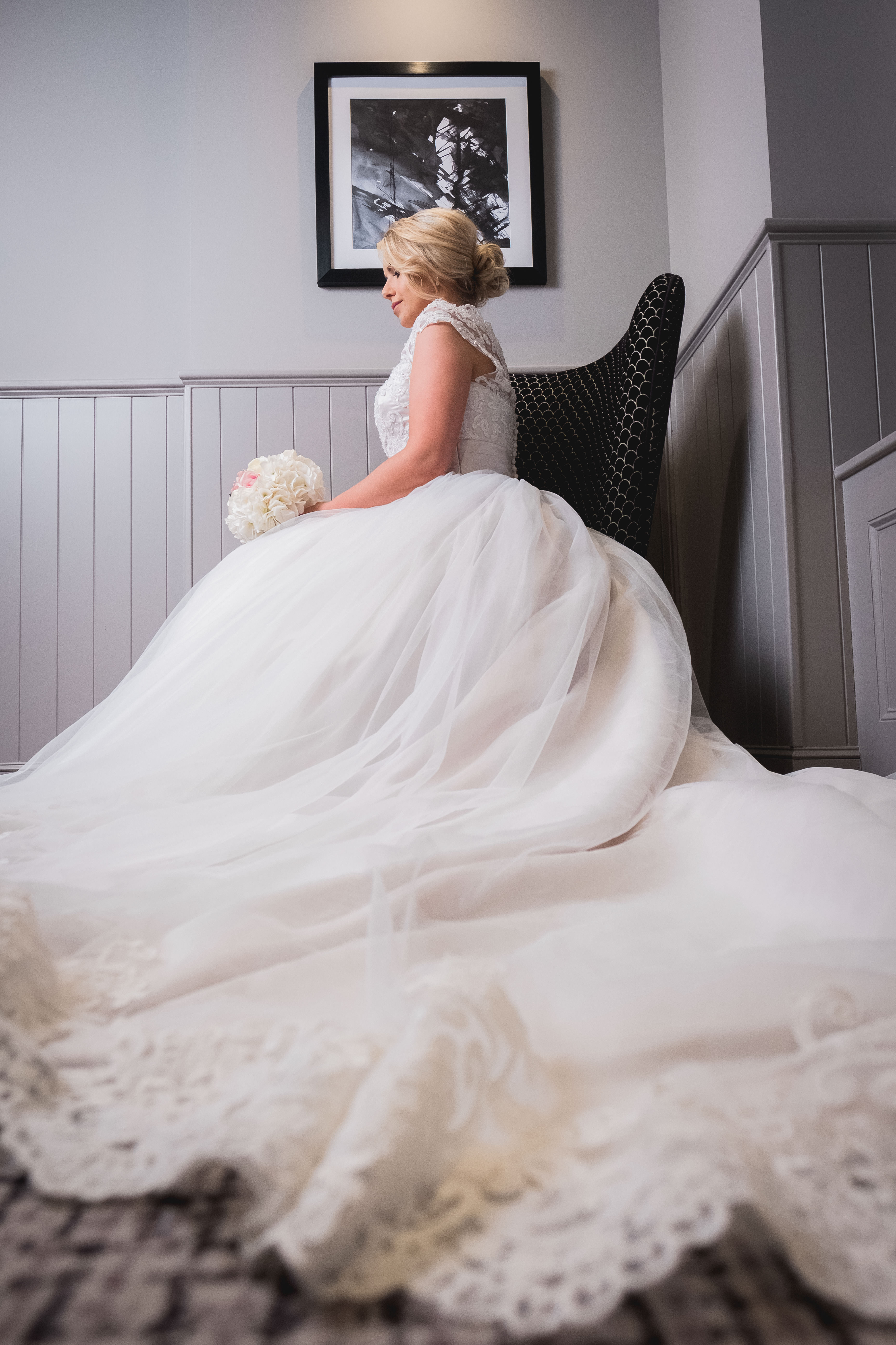 What is your wedding dress like?