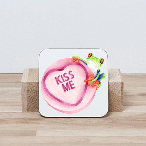 Kiss Me Coaster