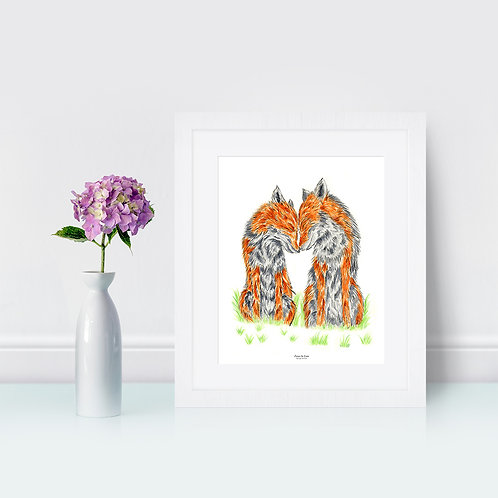 Foxes In Love - Original