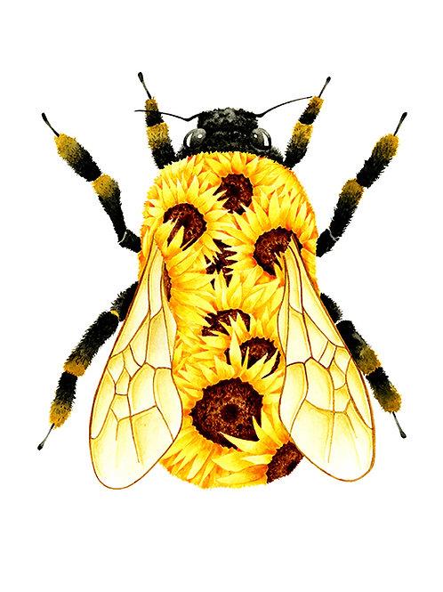 Sunflower Bumblebee