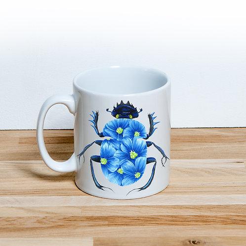 Blue Blossom Beetle