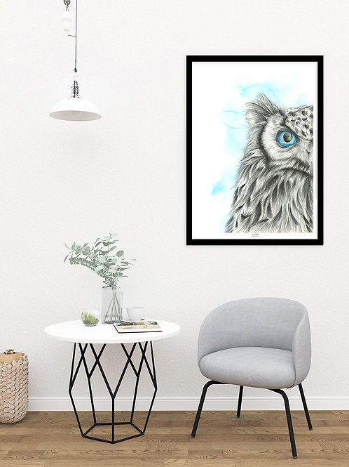 Icy Owl - Original