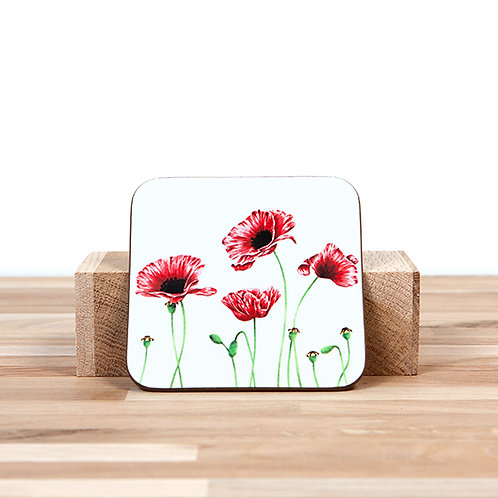 Poppies Coaster