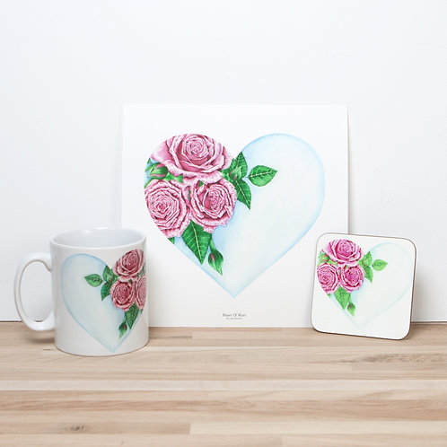 Heart Of Roses Set