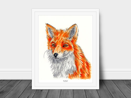 Fox Portrait - Original
