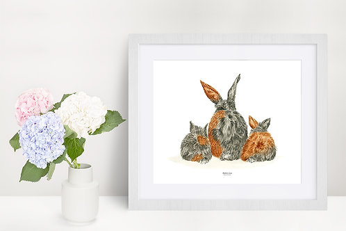 Mothers Love (Rabbit) - Original