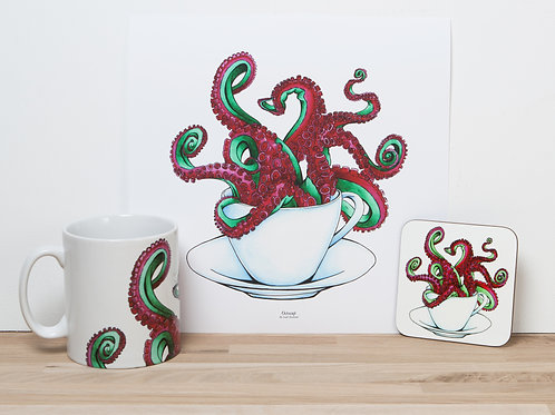 Red Octocup