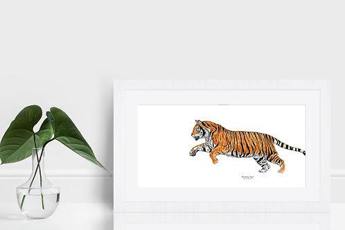 Running Tiger - Original