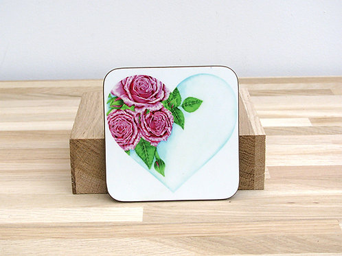 Heart Of Roses Coaster