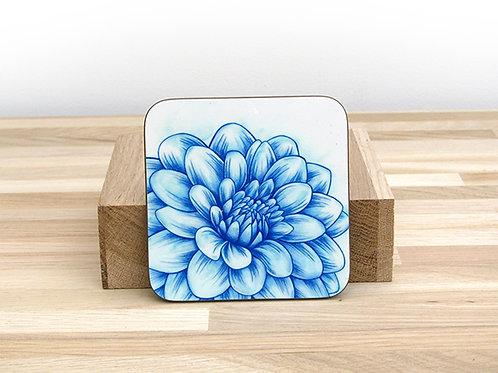 Blue Blossom Coaster