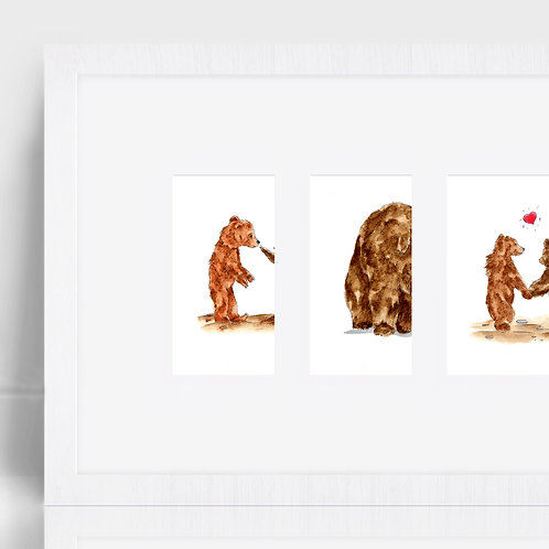Bears - Three Prints