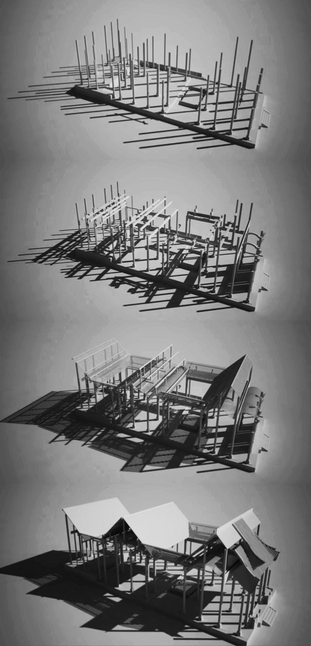 Chinese Architecture 3D Model