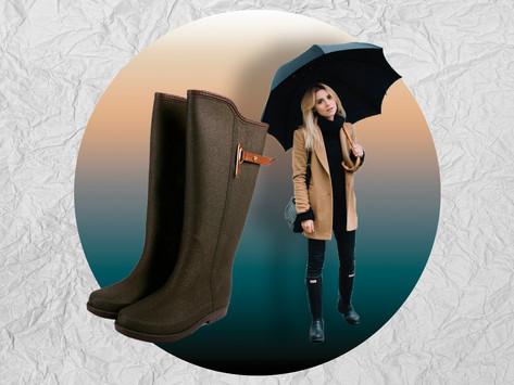 El mejor TOP de botas y zapatos para esta época de lluvias