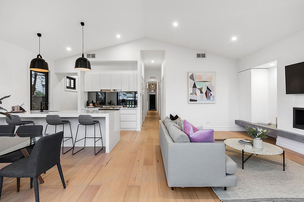 A picture of a renovated home in Yarraville