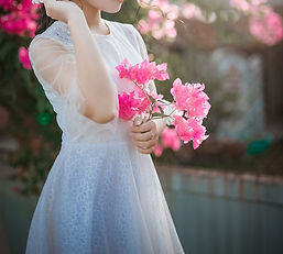 Woman with Pink Flowers.jpg