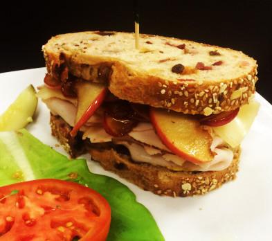 Sweet Apple Turkey Sandwich
