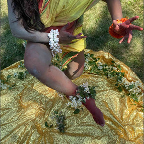 Valli 108   Portraits of the Artist as Iccha Sakti   Cosmic Sounds of Creation of Beautiful Feminine