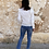 Thumbnail: Blusa candela blanca