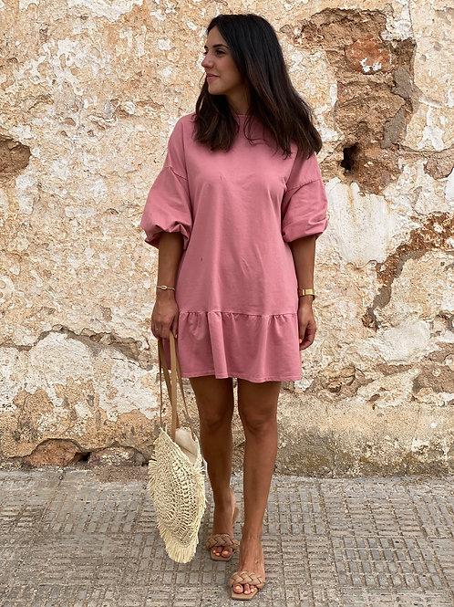 Vestido lidia rosa