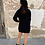 Thumbnail: Vestido punto negro perla