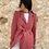 Thumbnail: Blazer manga abullonada rosa