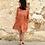 Thumbnail: Vestido flamencos naranja