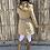Thumbnail: Gabardina guateada capucha verde