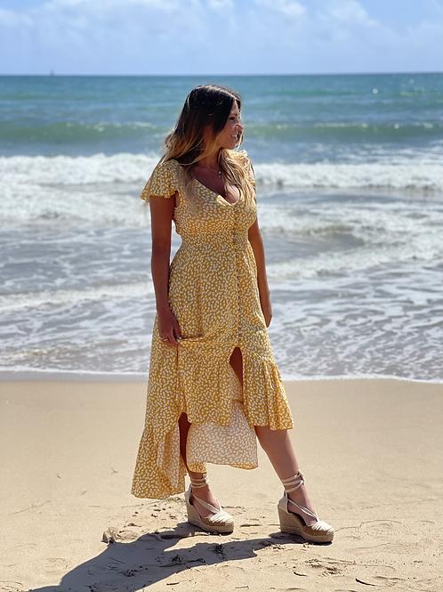 Vestido Vanesa amarillo
