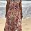 Thumbnail: Vestido camisero largo estampado