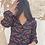 Thumbnail: Blusa negra estampada
