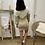 Thumbnail: Vestido bicolor beige