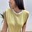 Thumbnail: Camiseta hombreras rayas amarilla