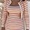 Thumbnail: Vestido rayas rosa punto