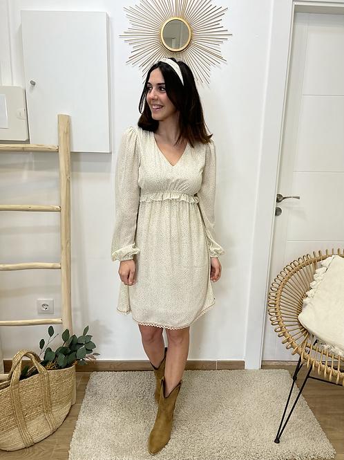 Vestido Esther beige