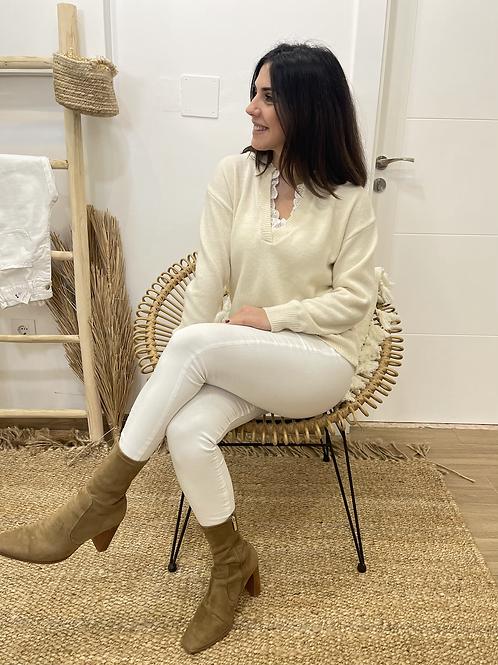 Jersey claudia beige