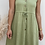 Thumbnail: Vestido lino verde