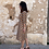 Thumbnail: Vestido midi estampado de albaricoques