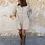 Thumbnail: Vestido micro pana beige