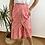 Thumbnail: Falda midi estampada roja