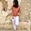 Thumbnail: Blusa flamencos naranja