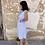 Thumbnail: Vestido midi cuadros azul