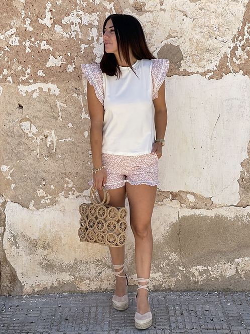 Short rosa volante