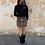 Thumbnail: Falda combinada negra